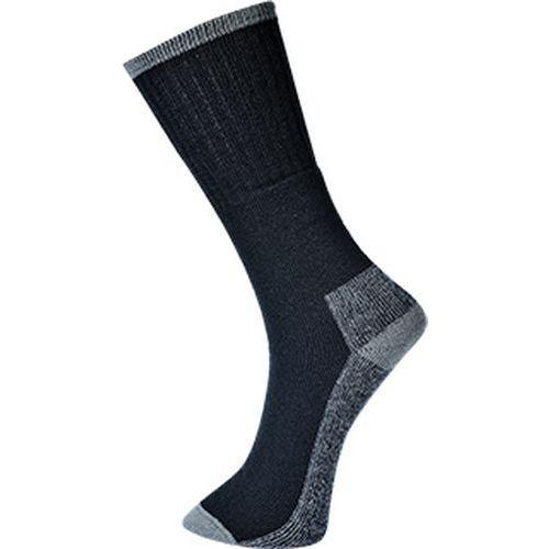 Pracovné ponožky 3 páry, čierna