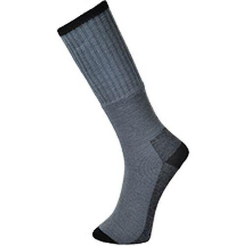 Pracovné ponožky 3 páry, sivá