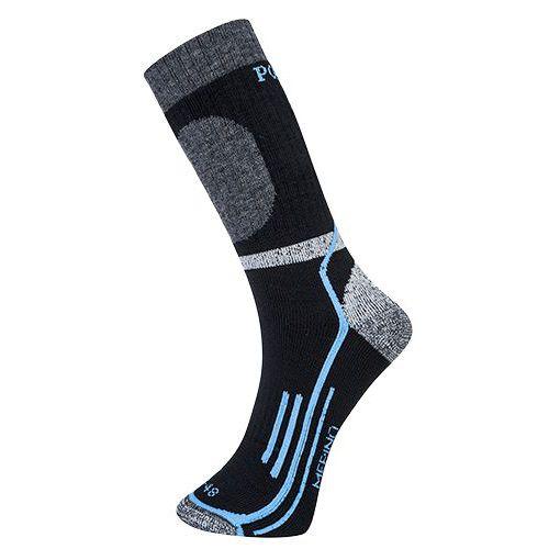 Zimné Merino ponožky, čierna