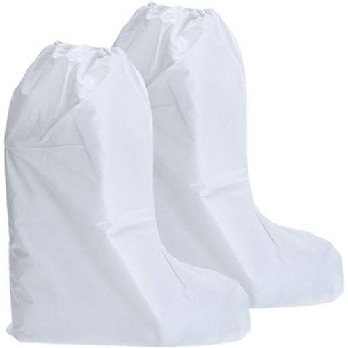 BizTex mikroporézny návlek na vysokú obuv typ 6PB, biela