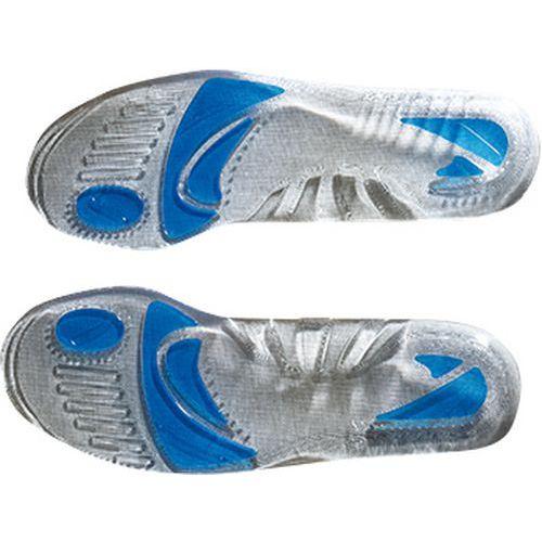 Gélové vložky do topánok, sivá