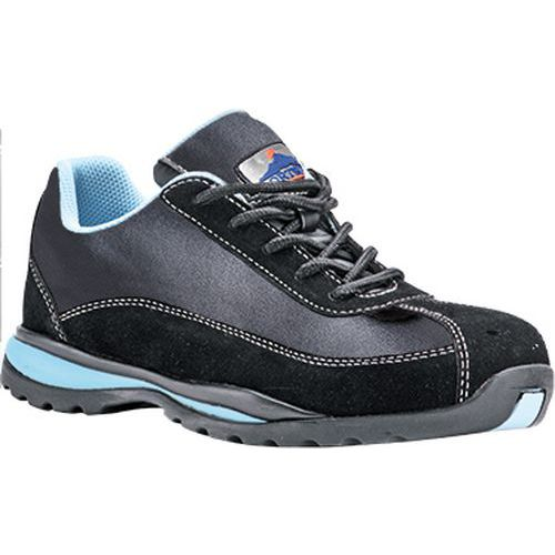 Nízke tenisky Steelite Ladies S1P HRO, čierna,modrá