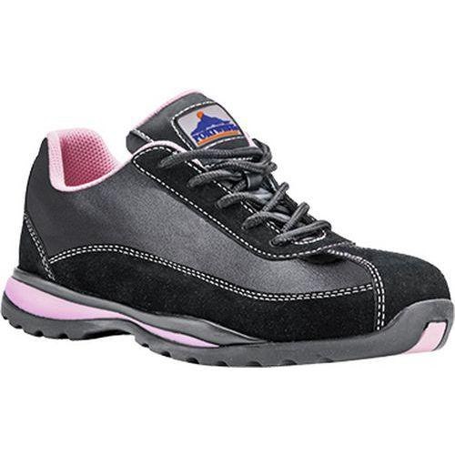 Nízke tenisky Steelite Ladies S1P HRO, čierna,ružová