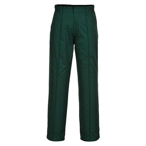 Nohavice Preston, zelená