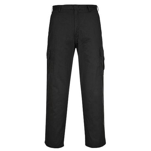 Nohavice Combat, čierna