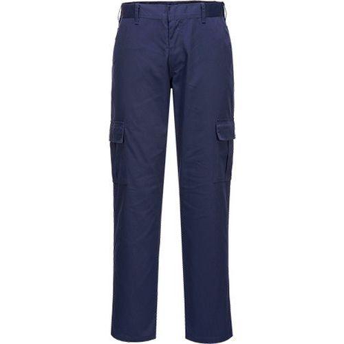 Slim Fit Combat nohavice, modrá