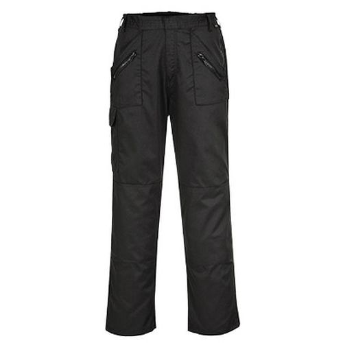 Nohavice Action elasticky pas, čierna