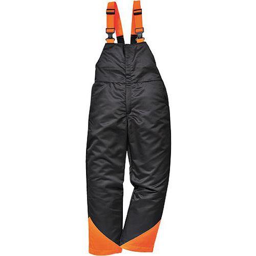 Nohavice na traky Oak, čierna