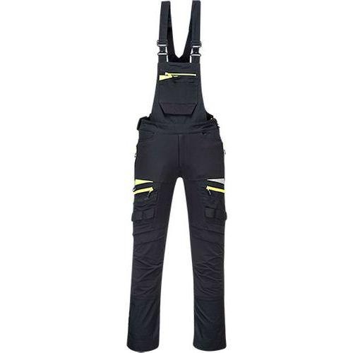 DX4 Nohavice na traky, čierna