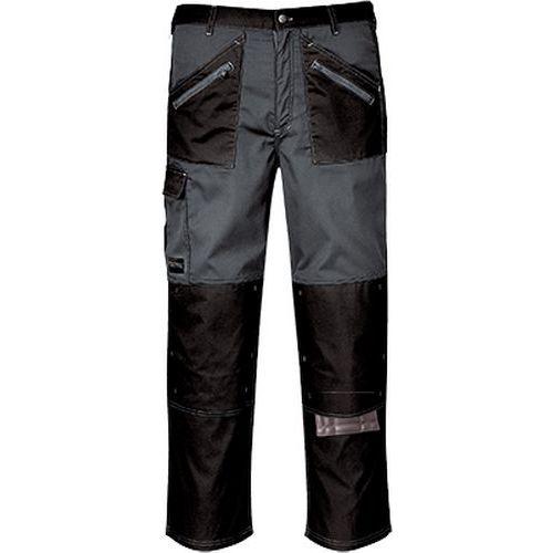 Nohavice Chrome, čierna/sivá