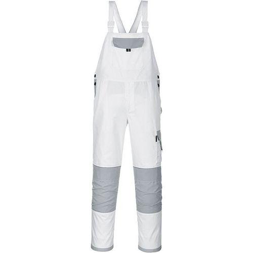 Nohavice na traky Painters Pro, biela