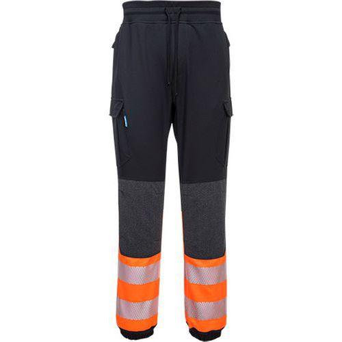 KX3 Hi-Vis Flexi nohavice, čierna/oranžová