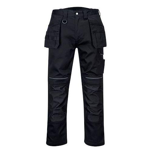 PW3 Bavlnené Holster nohavice, čierna