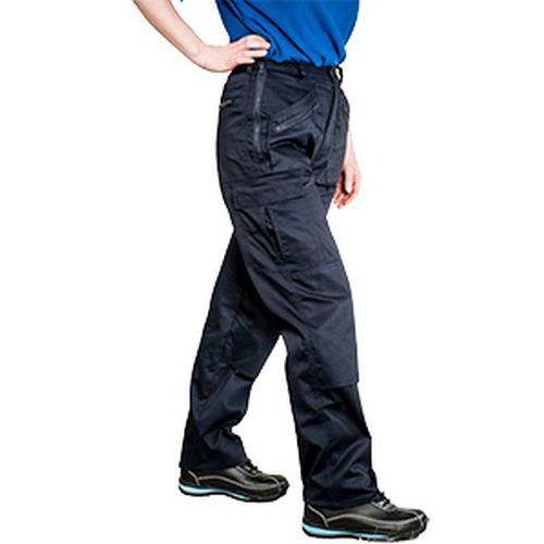 Nohavice dámske Action, modrá