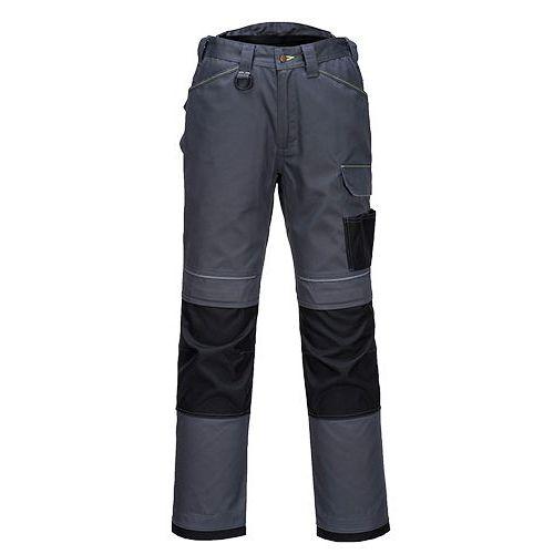 PW3 Pracovné nohavice, sivá/čierna