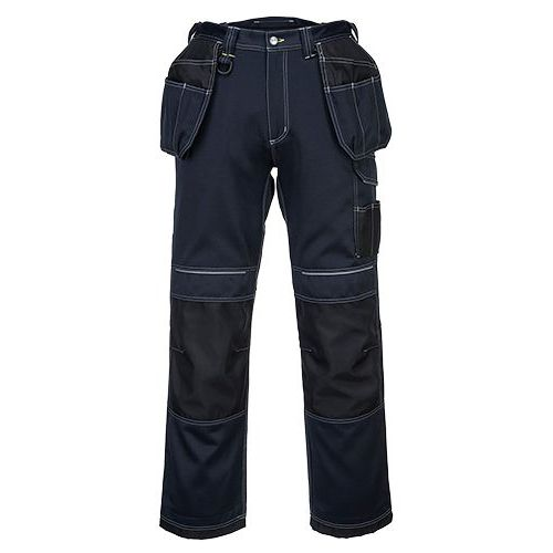 PW3 Pracovné Holster nohavice, čierna/modrá