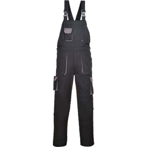 Nohavice na traky Portwest Texo Contrast, čierna