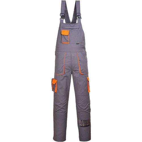 Nohavice na traky Portwest Texo Contrast, sivá