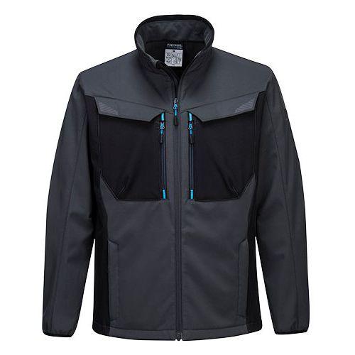 WX3 Softshelová bunda, sivá