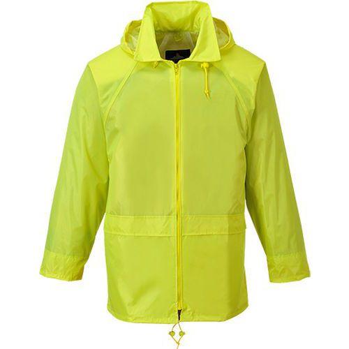 Vetrovka do dažďa Classic Adult, žltá