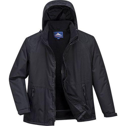 Limax zateplená bunda, čierna