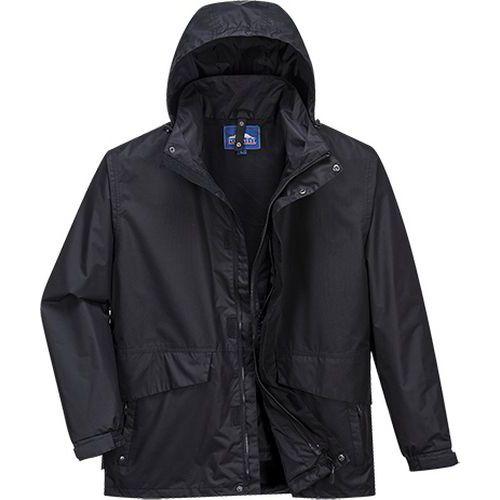 Argo priedušná 3 v 1 bunda, čierna