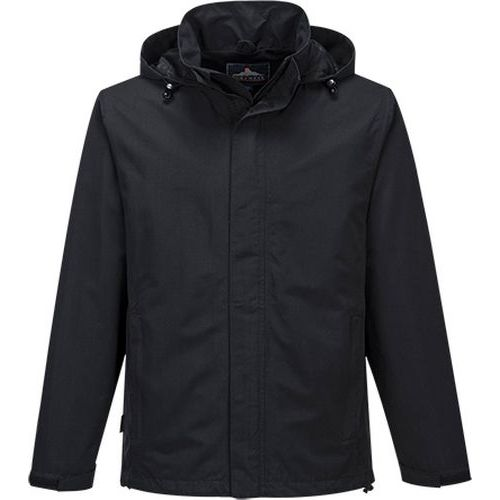 Pánska firemná bunda Shell, čierna
