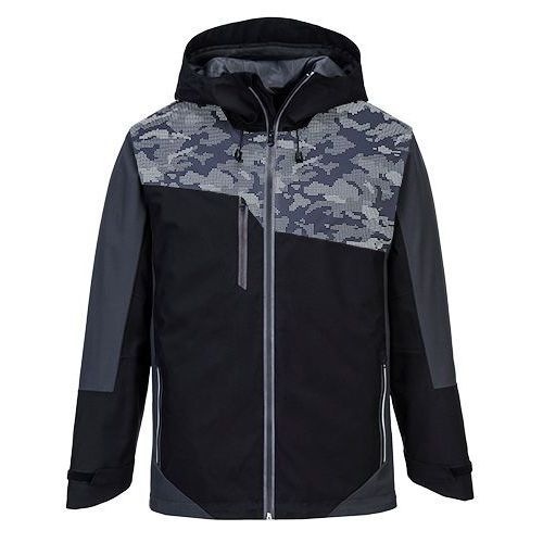 Portwest X3 Reflexná bunda, čierna/sivá