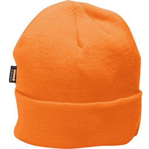 Čiapka zateplená Insulatex, oranžová