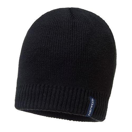 Vode-odolná čiapka, čierna