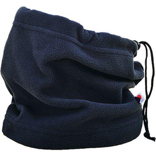 Elastický šál na krk alebo hlavu, modrá