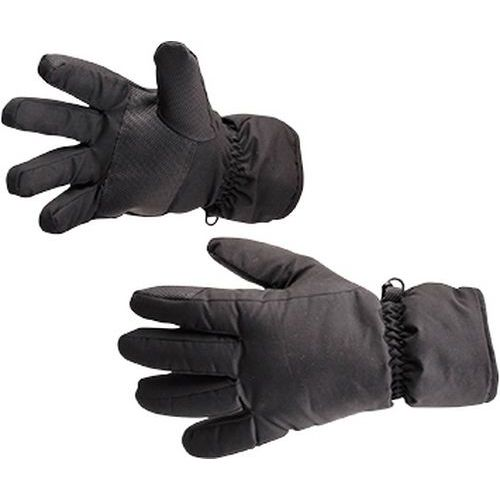 Vodeodolné lyžiarske rukavice, čierna