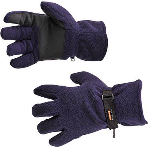 Flisové rukavice Insulatex podšívka, modrá