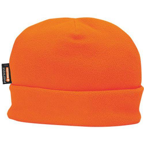 Flisová čiapka s podšívkou Insulatex, oranžová