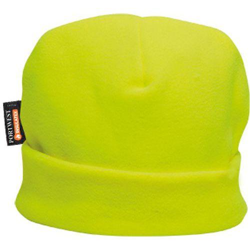 Flisová čiapka s podšívkou Insulatex, žltá