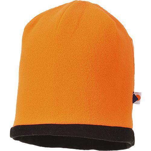Čiapka Hi-Vis Beanie, čierna/oranžová