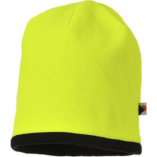 Čiapka Hi-Vis Beanie, čierna/žltá