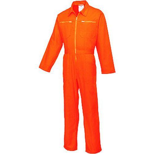 Kombinéza bavlnená, oranžová