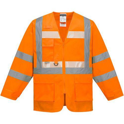 Glowtex Executive bunda, oranžová