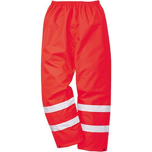 Reflexné nohavice Hi-Vis Traffic, červená