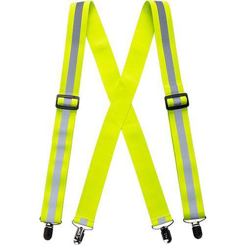 Hi-Vis nohavicové traky, žltá