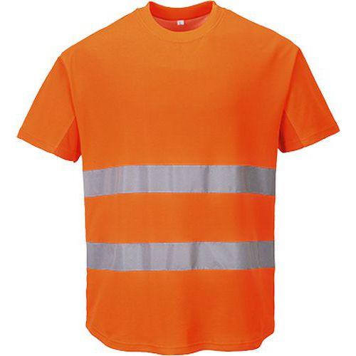 Tričko Mesh, oranžová