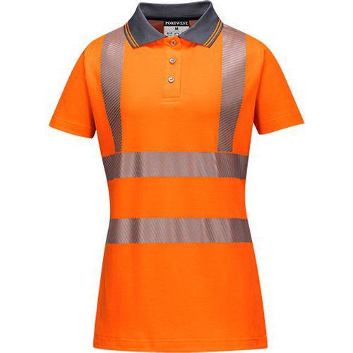 Dámske Pro Polo tričko, oranžová