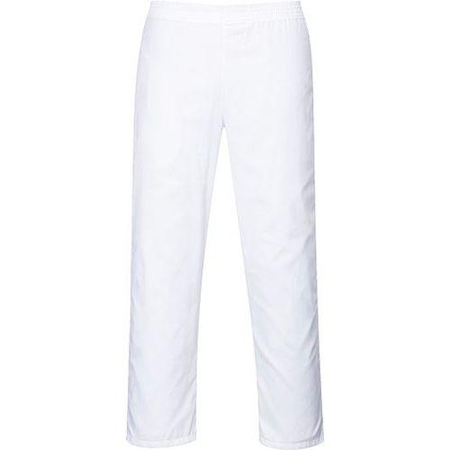Nohavice pekárske, biela