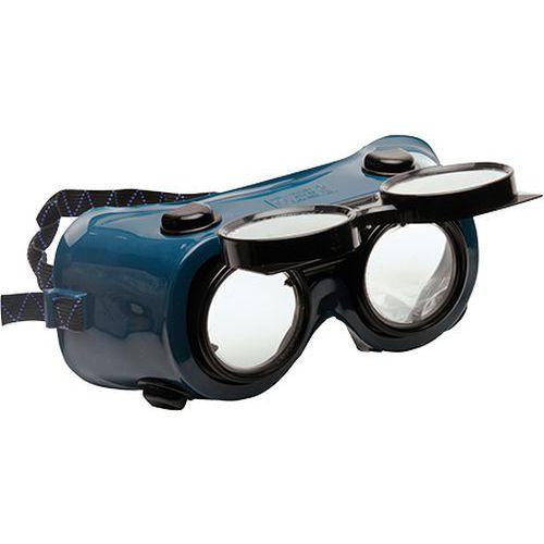 Zváračské okuliare, zelená