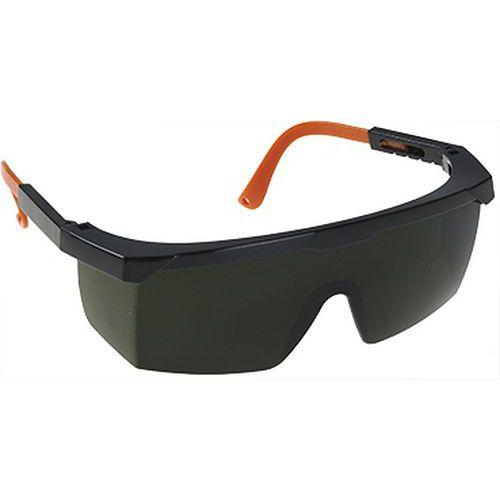 Zváračské bezpečnostné okuliare, zelená