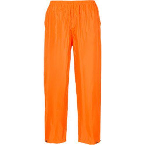 Nohavice do dažďa Classic Adult, oranžová