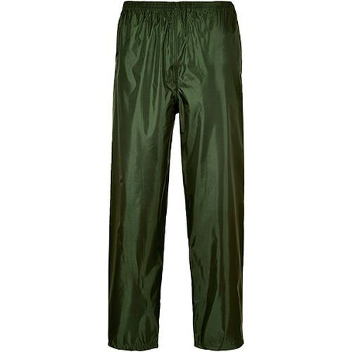 Nohavice do dažďa Classic Adult, zelená