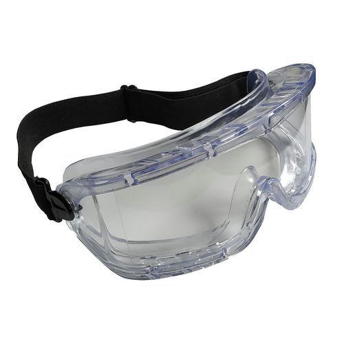 Uzavreté ochranné okuliare Safe s čírymi sklami