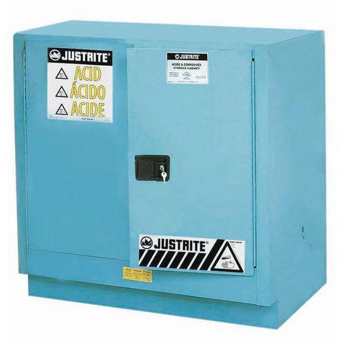 Skrine na nebezpečné látky Justrite Sure-Grip® EX, 889 x 889 x 559 mm